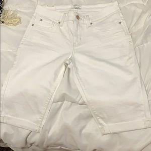 Signature Levi White Bermuda Shorts